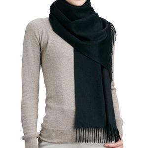 Accessories - Black Cashmere Scarf NWT